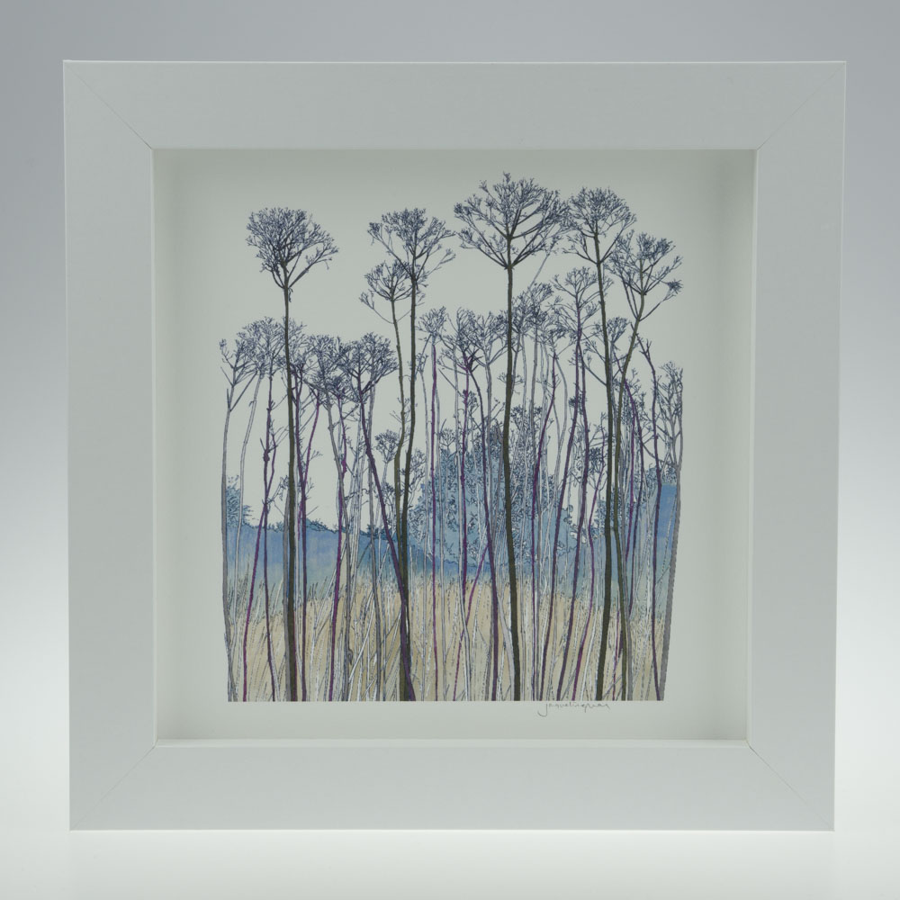'Seed Head Portrait'-framed print -Pensthorpe Natural Park