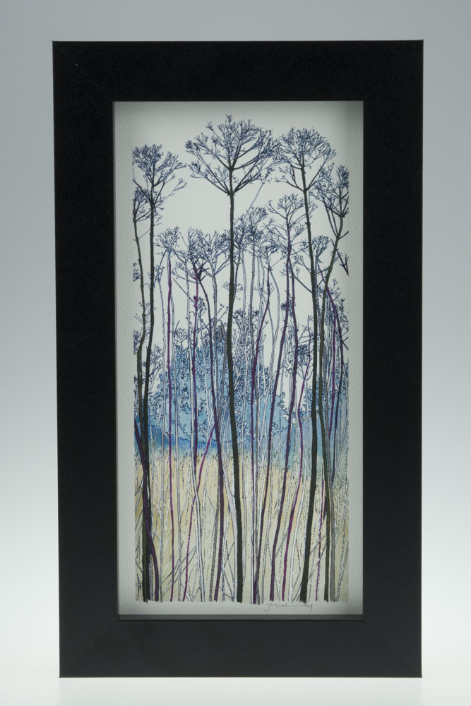 Seed Head Portrait-Medium Long-Framed Prints-Pensthorpe Natural Park
