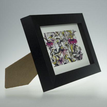 Flowerscape-Medium Long-Framed Prints-Pensthorpe Natural Park