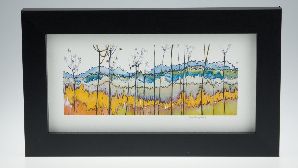 Banks of the River Yare-Medium Long-Framed Prints-Reedham, Norfolk