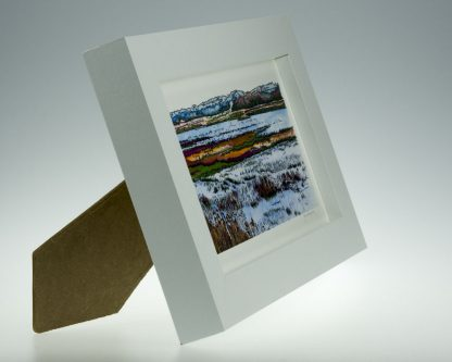 'Titchwell Marsh'-Framed print -Titchwell Nature Reserve