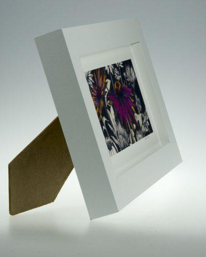Pink Echinacea-Medium Long-Framed Prints-Pensthorpe Natural Park