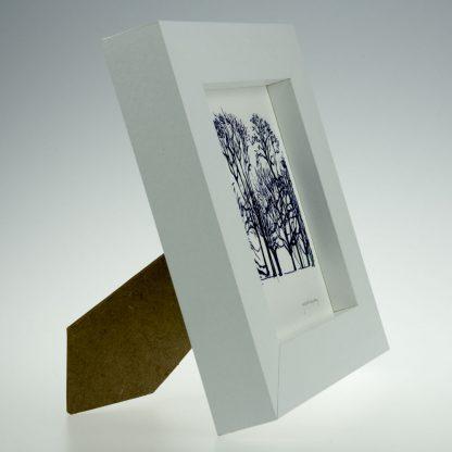 'Upton Trees-Black & White'-framed print -Upton House