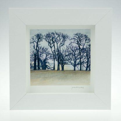 'Upton Trees-Full Colour'-framed print -Upton House