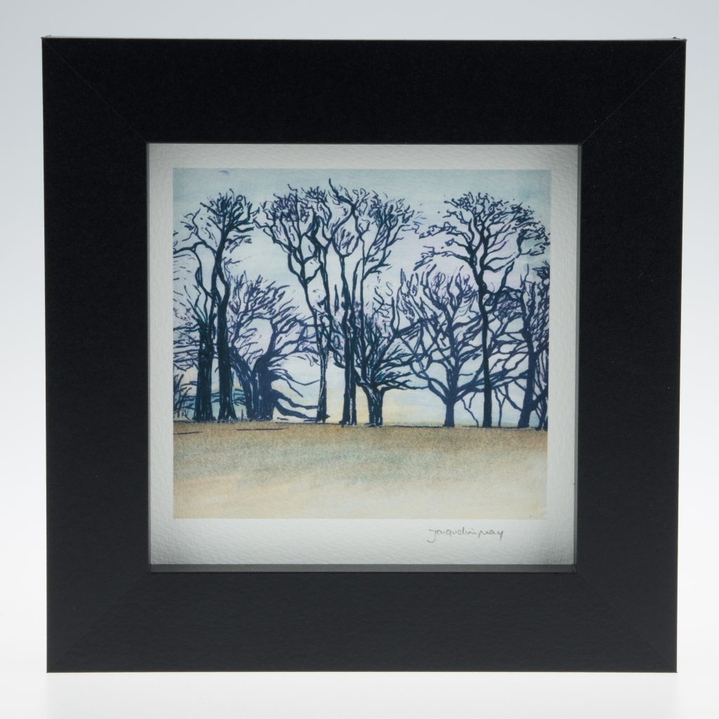 'Upton Trees-Full Colour'-framed print -Upton House