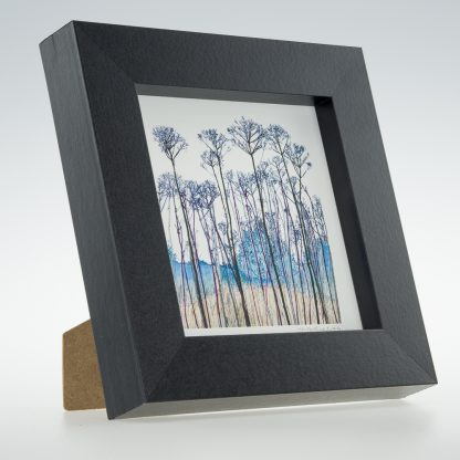 Seed Head Portrait-Framed Prints - Small Square-Pensthorpe Natural Park