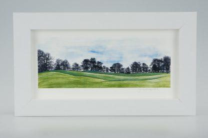 'A Brisk Walk'-Framed print -Canons Ashby