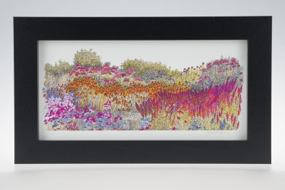 Millennium Garden-Medium Long-Framed Prints-Pensthorpe Natural Park