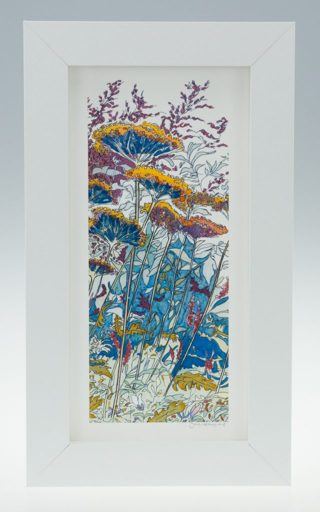 Late Summer -detail 3-Medium Long-Framed Prints-Coughton Court