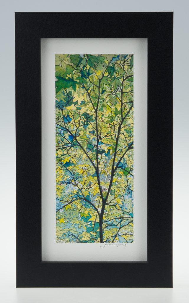 Tree Canopy-Medium Long-Framed Prints-Stoneywell Cottage