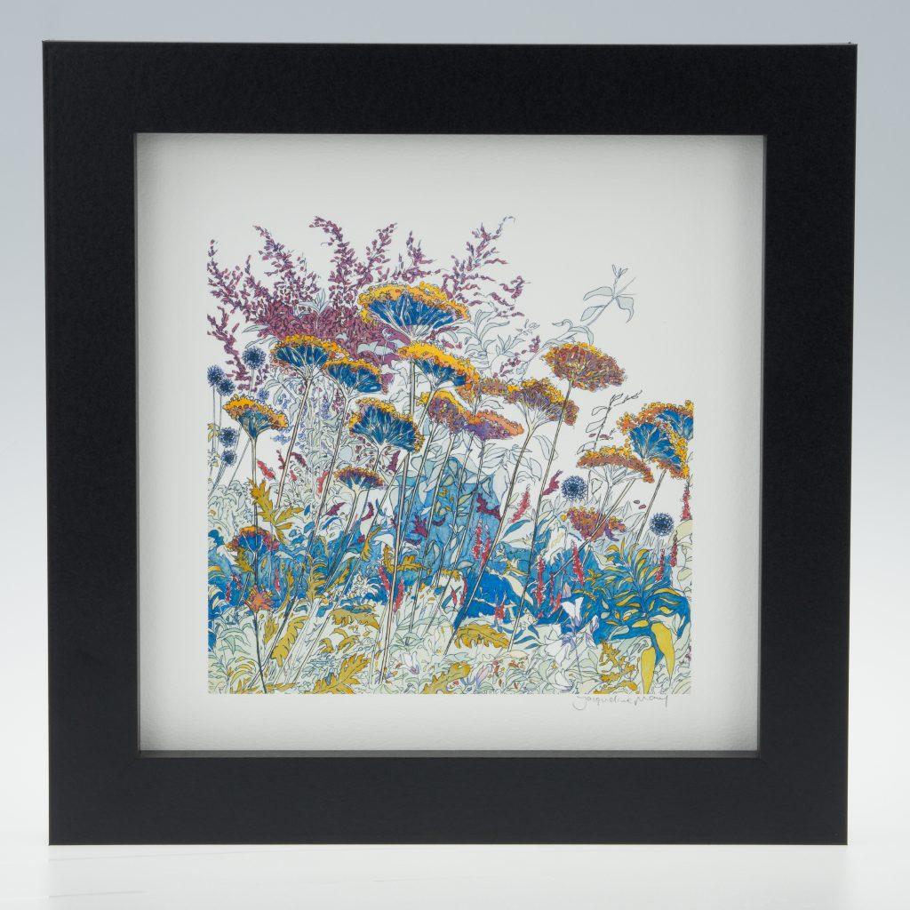 'Late Summer -detail 2'-framed print -Coughton Court