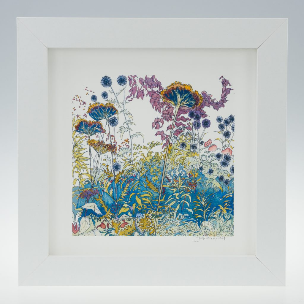 'Late Summer -detail 1'-framed print -Coughton Court