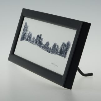 Bare Winter Trees-Framed Prints-Small Long -Canons Ashby