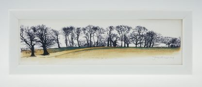 Upton Trees-Green Grass-Framed Prints-Upton House