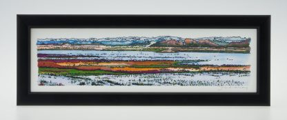 Titchwell Marsh-Framed Prints-Small Long -Titchwell Nature Reserve