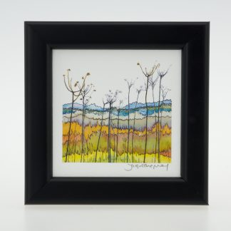 'Banks of the River Yare'-framed print -Reedham, Norfolk
