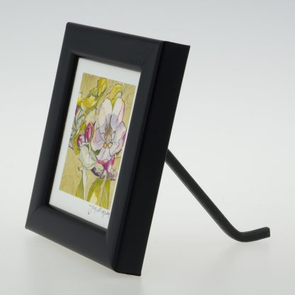 'Apple Blossom on Pastel'-framed print -Stoneywell Cottage