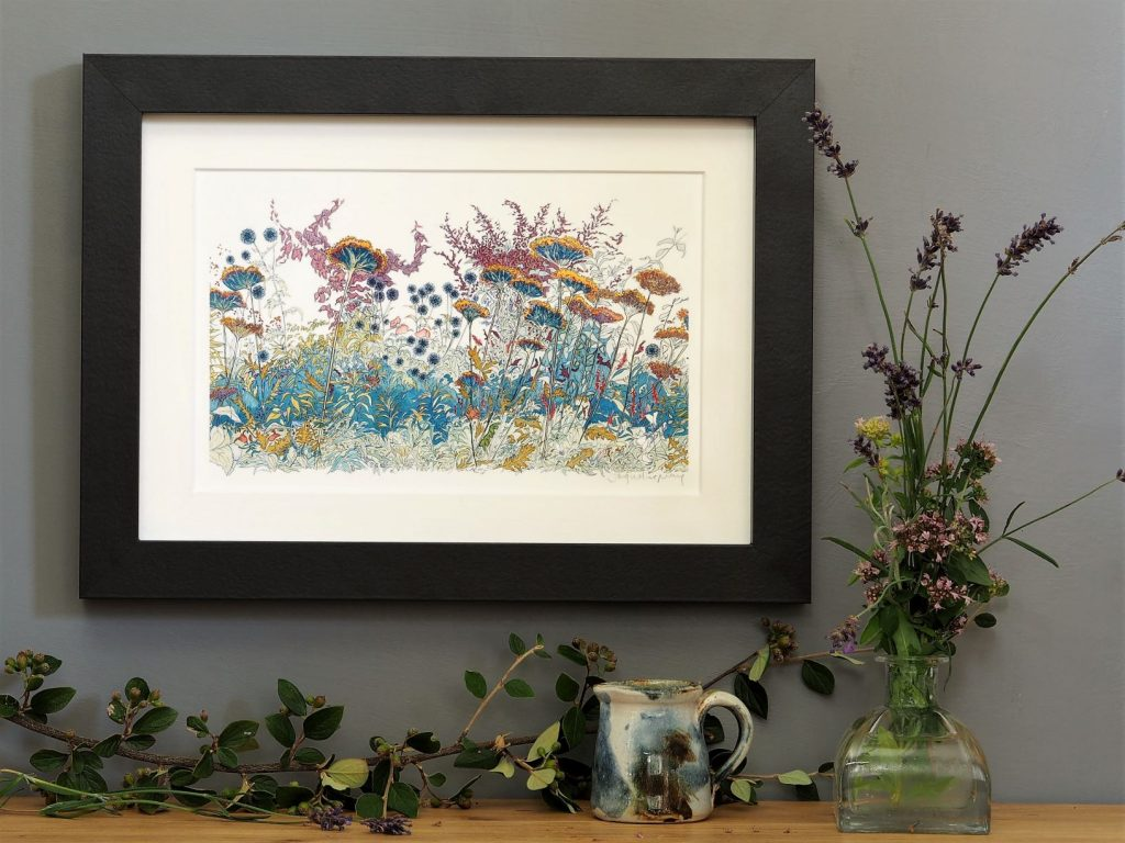 'Late Summer'-SMALL mounted print