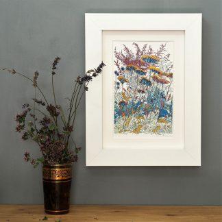 'Late Summer -detail 2'-MINI mounted print