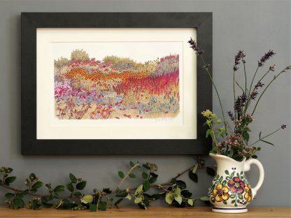 'Millennium Garden' SMALL mounted print