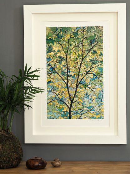 'Tree Canopy' MEDIUM mounted print-