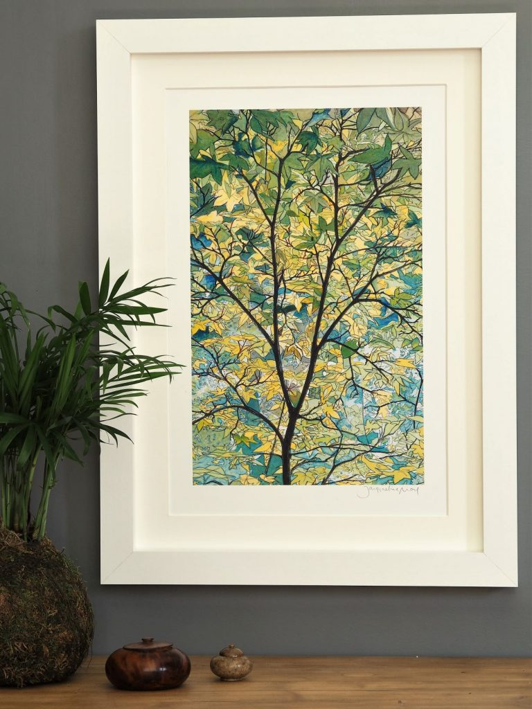 'Tree Canopy' MEDIUM mounted print-