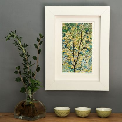 'Tree Canopy' MINI mounted print-