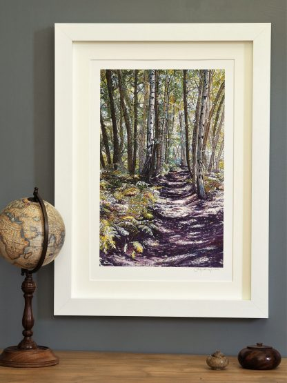 'Unknown Wood' MEDIUM mounted print