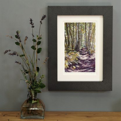 'Unknown Wood' MINI mounted print-
