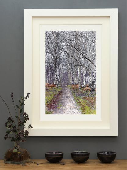 'New Years Walk' mounted print