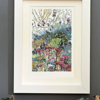 'The Wild Garden' mounted print
