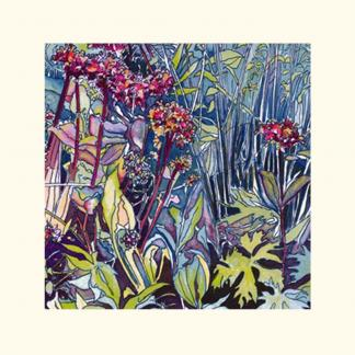 'In the Wild Garden'-SMALL greeting card