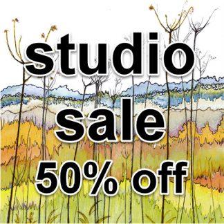 STUDIO SALE-50% off